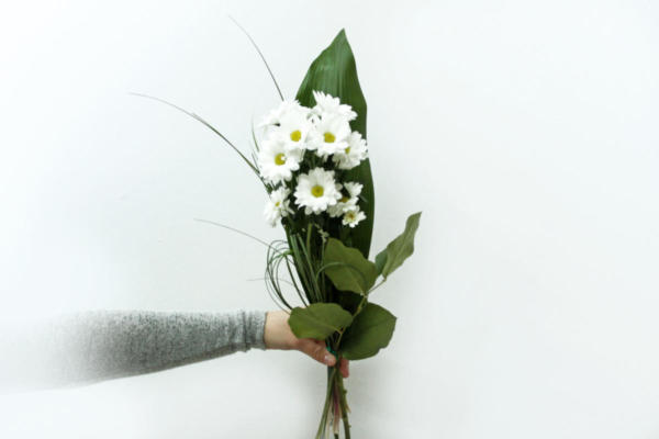 Bouquet Marguerites Blanches